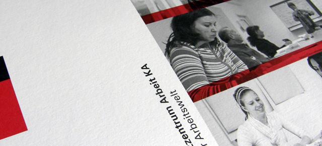 Grusskarte Kompetenzzentrum Arbeit KA
