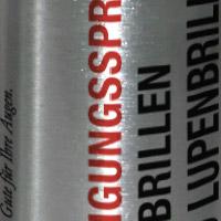 Reinigungsspray Heinzelmann Optik Bern AG